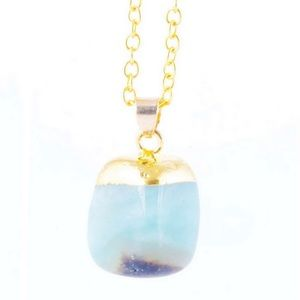 Jewelry - Amazonite gemstone necklace